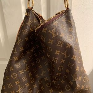 Pre owned Louis Vuitton sully monogram bag